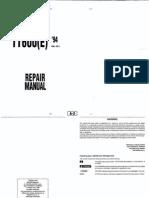 TT600e (1994) Manuale Officina Inglese