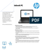 HP 240 G3 Notebook PC