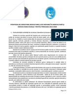 Strategia de Cercetare ASAS 2014-2020 NOV 15 2011