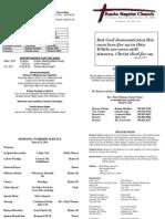 2015-3-22 Bulletin