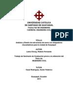 Análisis y Diseño de estructuras de acero con disipadores viscoelásticos para la ciudad de Guayaquil
