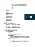 Case sheet Proforma