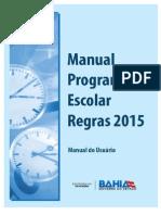 Manual Programacão Escolar Regras-2015