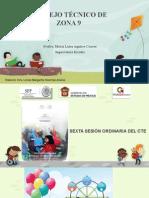 SEXTA SESIÓN CTE 2014 - 2015  PRIMARIAS