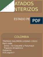 TRATADOS FRONTERIZOS