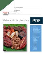 Elaboracion de Chocolate