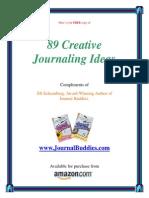89 Creative Journaling Ideas