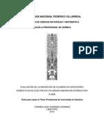 EVALUACIÓN DE LA MIGRACIÓN DE ALUMINIO EN HERVIDORES DOMÉSTICOS NO ELÉCTRICOS UTILIZANDO ABSORCIÓN ATÓMICA POR FLAMA