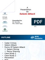Salami Attack ppt