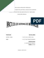 Impacto de Los s.i.g en Lo Moral, Etico y Social