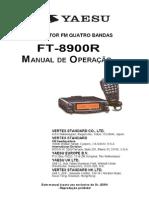 Manual FT 8900R