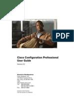 Cisco Configuration Professional (CCP) User Guide