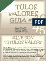 Titulos Valor