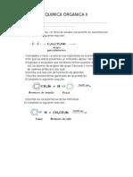 Examen Quimica Organica II
