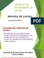 Gestion de Ventas Clasificación de Los Enfoques de Pronostico de Ventas Metodo Encuestas y Prueba de Marketing