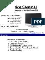 Panasonic LCD Seminario 2006