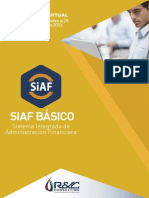 CURSO PRESENCIAL | Siaf básico presupuestario-administrativo