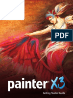 Corel Painterx3 Getting Started Guide