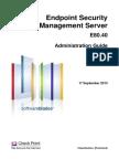 CP E80.40 EndpointSecurity AdminGuide
