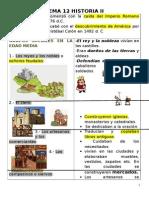 temas historia media, moderna y contemporánea de 4º primaria