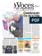 Voces de Esperanza 22 de Marzo de 2015