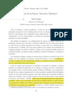 Bunge - Dos enfoques de la Ciencia-Sectorial y Sistémico.pdf