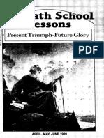Lição Da Escola Sabatina 2º Trimestre 1989