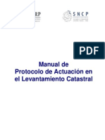 Manual Protocolo Actuacion Levantamiento Catastral