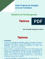 Aula de Taninos_2010 Dr. Damião Pergentino