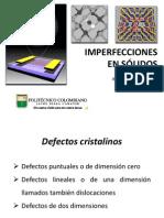 Unidad 2-4 Imperfecciones en Solidos