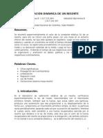 Calibración Dinámica de Un Resorte. Carlos m Domínguez b 1.017.231.864 Sebastián Barrientos b 1.017.202.397