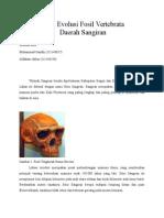Bukti Evolusi Fosil Vertebrata