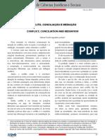 Conflito, Conciliação e Mediação Valéria Ferioli Luchiari