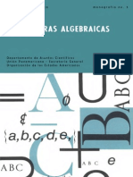 Álgebra Estructuras Algebraicas Mon3