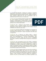 Manifesto do Projeto Da Reforma Politica