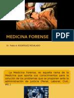 j. Medicina Forense