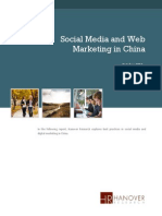 Social Media and Web Marketing in China