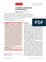 2011.Biogenic.catalytically Active Bimetallic Pd-Au NP