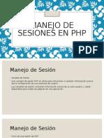 Manejo de Sesiones en Php
