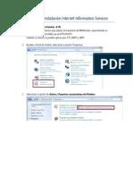 Documento 00 Instalación IIS