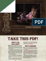 Redhurst Academy of Magic - Student Handbook