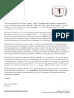 letter of reference carol farver