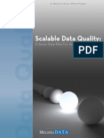 Scalable Data Quality Whitepaper