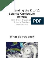 Understanding the K to 12 Science Curriculum Reform