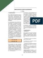 Farmacologia de Los Beta Bloqueantes