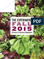 The Experiment Fall 2015 Catalog