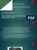 Propiedades Físicas Mecánicas y Térmicas Del Acero