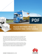 Huawei IDS1000 All-In-One Container Data Center Solution Brochure