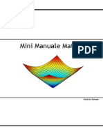 Mini Manuale Matlab 1.0