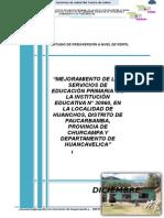 Estudio Pip i.e. 30960 Huanchos